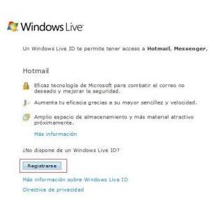 Como Abrir un Correo Hotmail para Principiantes