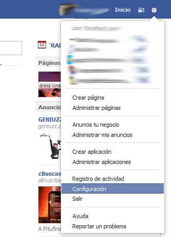 eliminar solicitud de juegos facebook