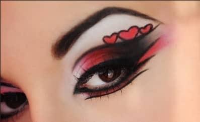 maquillaje de ojos para fiesta 1