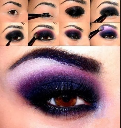maquillaje de ojos para fiesta 2