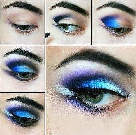maquillaje fiesta ojos