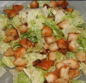 Como preparar una ensalada Cesar